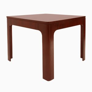 Italian Rosewood Square Extendible Dining Table, 1960s