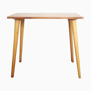 Table d'Appoint Mid-Century en Bois