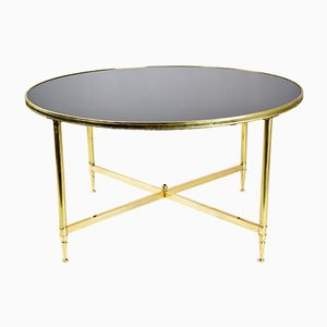 Table Basse Vintage en Bronze, France, 1970s