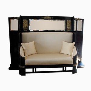 Art Nouveau Sofa, 1920s