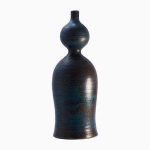 Swedish Stoneware Vase by Stig Lindberg for Gustavsberg, 1950s