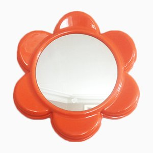 Orange Flower Mirror, 1970s