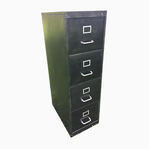 Vintage Industrial Filing Cabinet from Strafor, 1960s