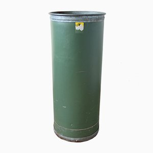Vintage Industrial Green Storage Bin from Suroy