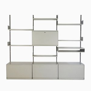 Vintage System 606 Wall Unit by Dieter Rams for Vitsoe