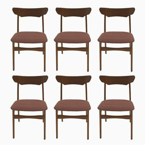 Dining Chairs by Schiønning & Elgaard, 1960s, Set of 6