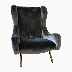 Vintage Senior Armchair by Marco Zanuso for Arflex