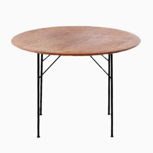 Scandinavian Folding Table, 1950s