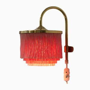 Vintage Fringe Wall Lamp by Hans-Agne Jakobsson, 1960s