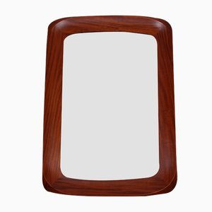 Mid-Century Swedish Teak Mirror from Atelier G&T, 1960s