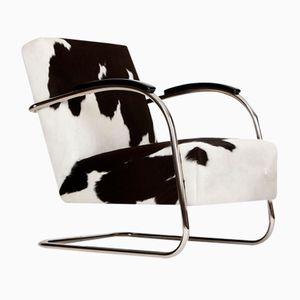 Tubular Steel Armchair from Mücke & Melder, 1930s