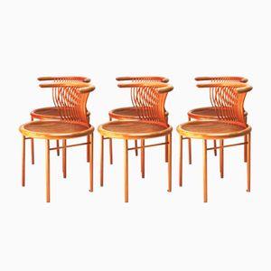Vintage Circo Stühle und Esstisch von Herbert Ohl für Lübke