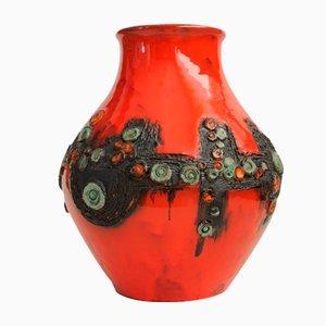 Belgische Mid-Century Vase von Rogier Vandeweghe für Amphora, 1960er