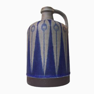 Danish Ceramic Vase with Arrow Decor by Thomas Toft, 1960s