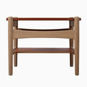 Mid-Century Side Table by Hans J. Wegner for Andreas Tuck