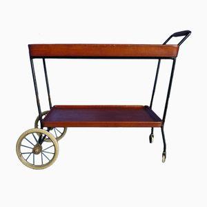 Mid-Century Teak Bar Cart, 1950s