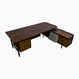 Mid-Century Executive Desk & Sideboard by Arne Vodder for Sibast