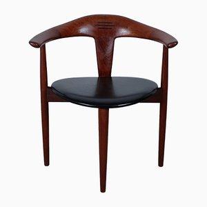 Mid-Century Teak Chair by Erik Andersen & Palle Pedersen for Randers Møbelfabrik