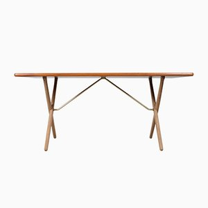 Mid-Century AT-303 Dining Table by Hans J. Wegner for Andreas Tuck