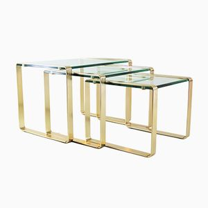 Nesting Tables from Fontana Arte, 1960s
