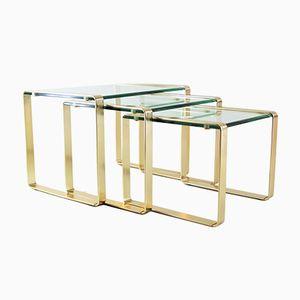 Tables Gigognes de Fontana Arte, 1960s