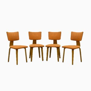 Vintage Dining Chairs by Cor Alons for Den Boer, Set of 4
