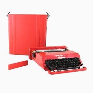 Vintage Valentine Schreibmaschine von Ettore Sottsass für Olivetti