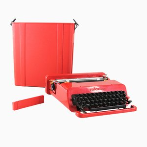 Vintage Valentine Typewriter by Ettore Sottsass for Olivetti
