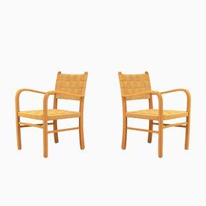 Mid-Century Scandinavian Armchairs, Set of 2