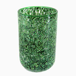 Murano Glass Jar by Gae Aulenti for Vistosi, 1970s