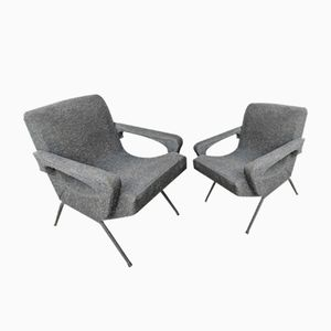 French Armchairs, 1970s, Set of 2
