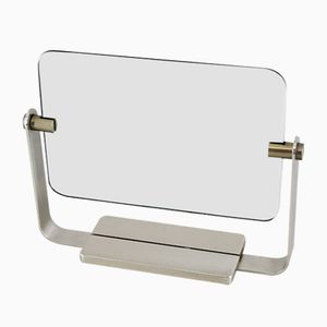 Mirror with Brass Frame from Fontana Arte, 1950s