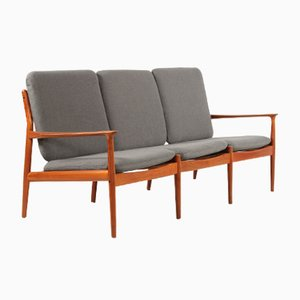 Vintage Teak Sofa by Grete Jalk for Glostrup