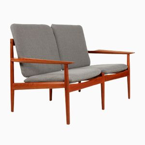 Teak Sofa by Arne Vodder for Glostrup, 1960s