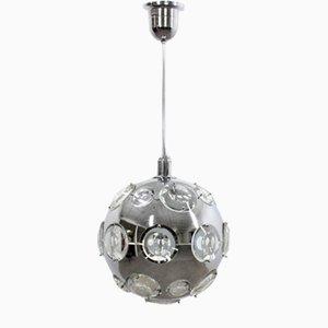 Lampe à Suspension Mid-Century par Oscar Torlasco pour Lumi