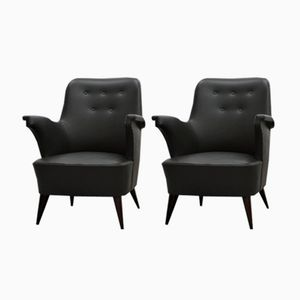 Mid-Century Armchairs from Anonima Castelli, Set of 2