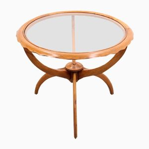 Mid-Century Round Coffee Table by Osvaldo Borsani