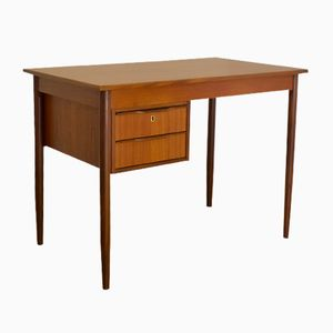Mid-Century Small Danish Teak Desk, 1960s