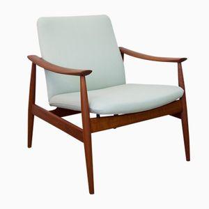 Modell 138 Armlehnstuhl von Finn Juhl für France & Son, 1960er