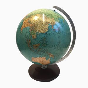 Large Model Duo Glass Globe from Columbus Verlag, 1960s