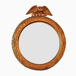 Vintage Spiegel mit Vergoldetem Holzrahmen von George Truby