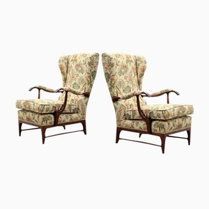 Mid-Century Armchairs by Paolo Buffa, Set of 2