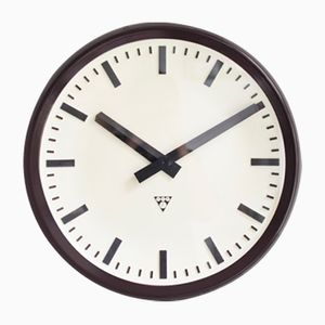 Horloge Murale Tchèque de Pragotron, 1960s