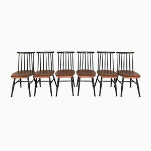 Fanett Stühle aus Teak von Ilmari Tapiovaara, 1960er, 6er Set