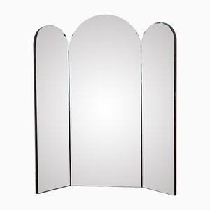 Mid-Century Italian Triptych Mirror