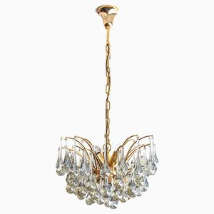 Teardrop Chandelier by Christoph Palme for Palwa, 1970s