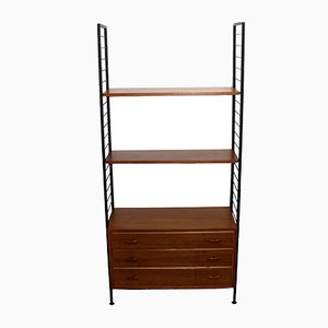 Mid-Century Shelving System by Robert Heal for Ladderax