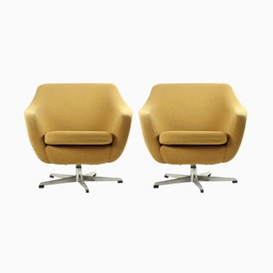 Czechoslovakian Club Chairs from UP Zavody, 1960, Set of 2