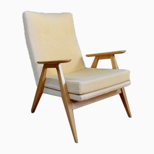 Mid-Century SK 640 Armchair by Pierre Guariche for Steiner