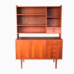 Vintage Swedish Bookcase in Teak